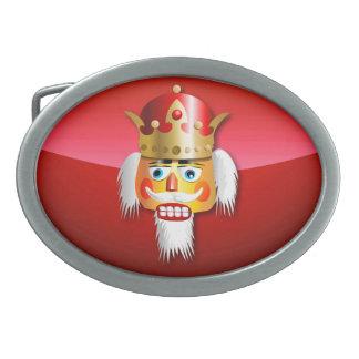 Boucles De Ceinture Ovales Roi à noix de casse-noix