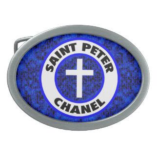 Boucles De Ceinture Ovales St Peter Chanel