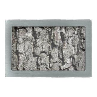Boucles De Ceinture Rectangulaires Arrière - plan de texture d'écorce de poirier