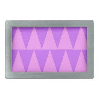 Boucles De Ceinture Rectangulaires Arrière - plan rose de pourpre de triangles