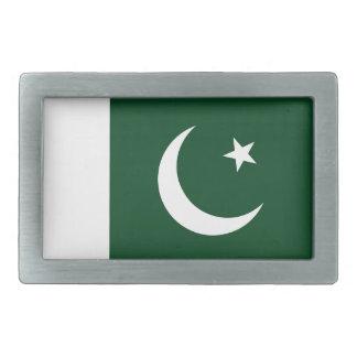 Boucles De Ceinture Rectangulaires Coût bas ! Drapeau du Pakistan