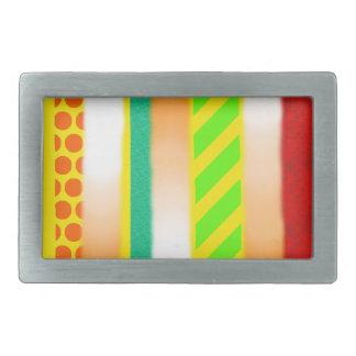 Boucles De Ceinture Rectangulaires La lumière modèle la boucle de rectangle