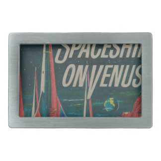 Boucles De Ceinture Rectangulaires Premier vaisseau spatial sur le film vintage de