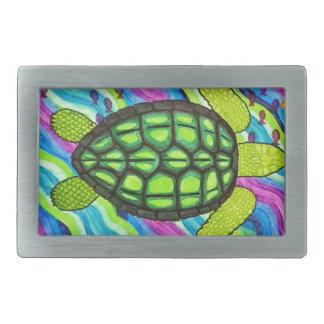 Boucles De Ceinture Rectangulaires tortue
