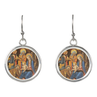 Boucles D'oreilles Adoration des rois (Magi de dei d'Adorazione)