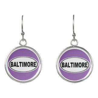 Boucles D'oreilles Baltimore le Maryland
