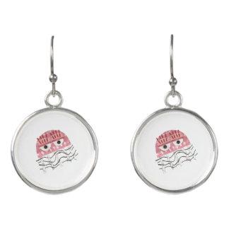 Boucles D'oreilles Boucles d'oreille de peigne de méduses