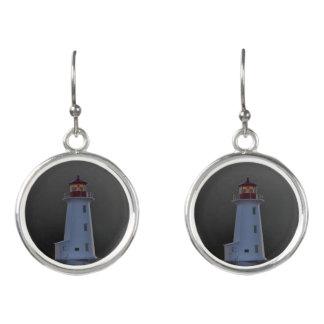Boucles D'oreilles Boucles d'oreille la Nouvelle-Écosse de phare de