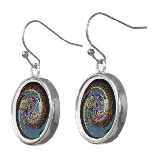 Boucles D'oreilles Étoiles tournantes hypnotiques