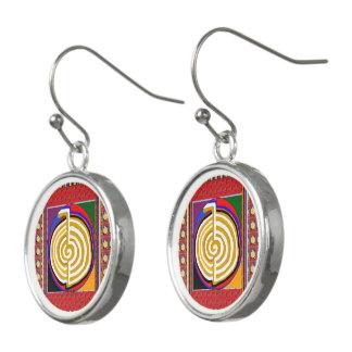 Boucles D'oreilles Symboles curatifs de maîtres de REIKI