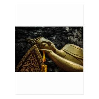 Bouddha de sommeil carte postale