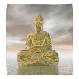 Bouddha d'or - 3D rendent Bandana