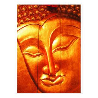 Bouddha d'or carte postale