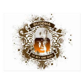 Bouddha est mon garçon de l'OM Carte Postale