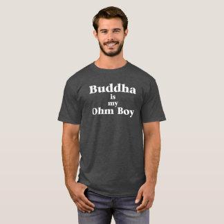 Bouddha est mon T-shirt de garçon d'ohm