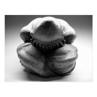 Bouddha pleurant carte postale