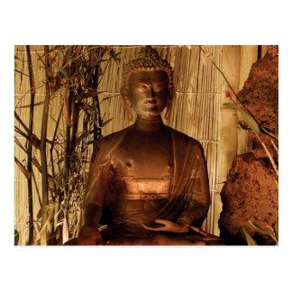 BOUDDHA : Statue de cuivre Carte Postale