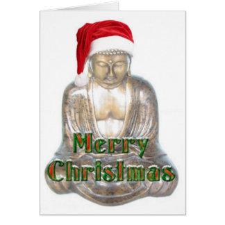 Bouddhisme - Bouddha - casquette de Joyeux Noël Carte De Vœux