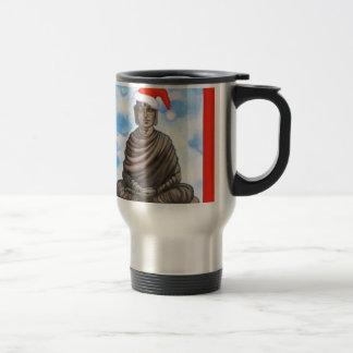 Bouddhisme - Bouddha - casquette de Joyeux Noël Mug De Voyage