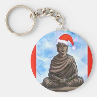 Bouddhisme - Bouddha - casquette de Joyeux Noël Porte-clé Rond