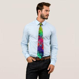 Boue d'arc-en-ciel cravate