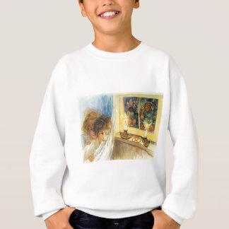 Bougies de sorcière de lutins de femmes sweatshirt