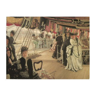 Boule à bord par James Tissot, art victorien