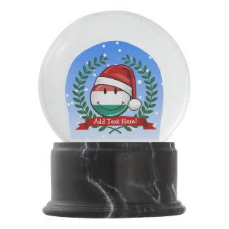 Boule À Neige Drapeau de Hongrois de style de Noël