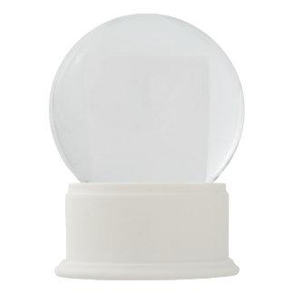 Boule À Neige Globe blanc de neige d'onyx