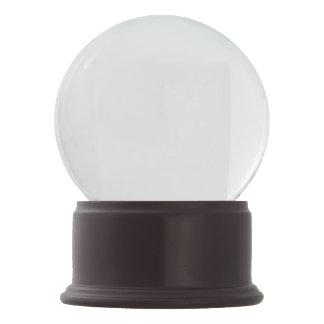 Boule À Neige Globe de neige d'onyx merlot
