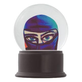 Boule À Neige Globe sournois de neige de Ninja