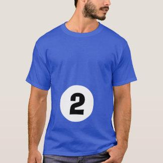 Boule de billard 2 - maternité t-shirt