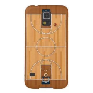 Boule de Hall de lancement de terrain de basket Coques Galaxy S5
