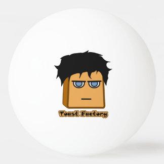 Boule de ping-pong blanche de Michael Toastie Balle Tennis De Table