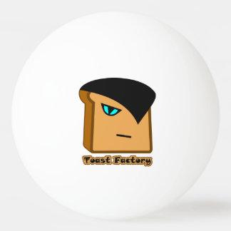 Boule de ping-pong blanche de Ruan Toastie Balle De Ping Pong