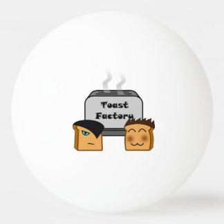 Boule de ping-pong blanche de Toastie de centres Balle De Ping Pong