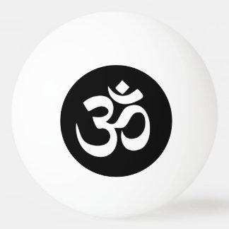 Boule de ping-pong de cercle de symbole de l'OM Balle De Ping Pong