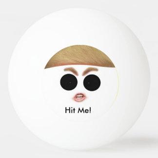 Boule de ping-pong de Donald Trump.  Frappez-LA ! Balle Tennis De Table