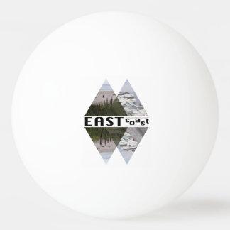 Boule de ping-pong de trois étoiles, CÔTE EST Balle Tennis De Table