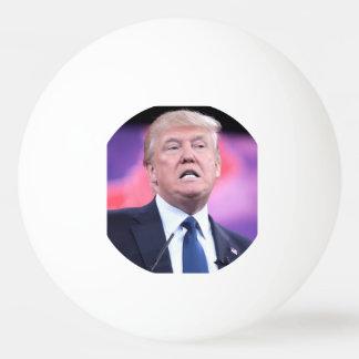 Boule de ping-pong de visage d'atout balle tennis de table