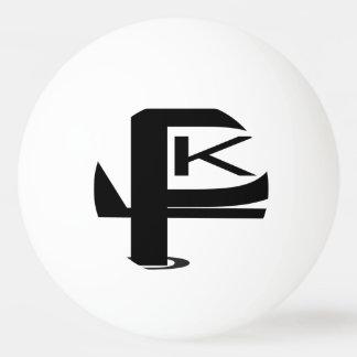 Boule de ping-pong d'étoile du logo un de KPL Balle Tennis De Table