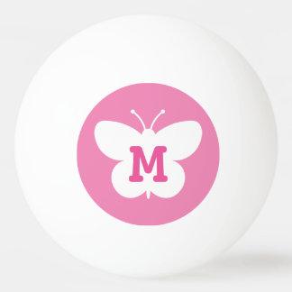 Boule de ping-pong personnalisée de papillon de balle de ping pong