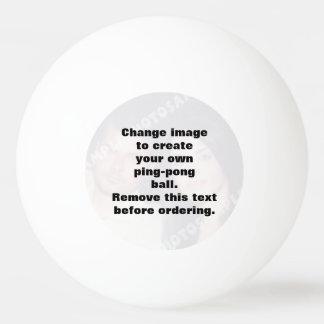 Boule de ping-pong personnalisée de ping-pong de balle tennis de table