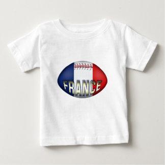 Boule de rugby de la France T-shirt Pour Bébé