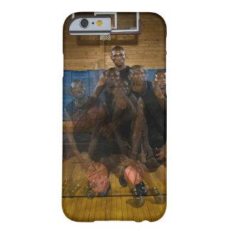 Boule de ruissellement de joueur de basket sur la coque barely there iPhone 6