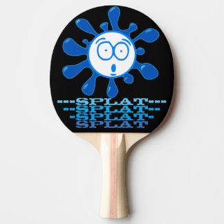 Boule drôle de Splatted Raquette Tennis De Table