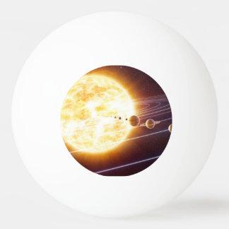 Boule d'univers balle tennis de table