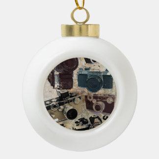Boule En Céramique Appareil-photo grunge de cru de photographie de