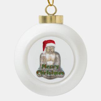 Boule En Céramique Bouddhisme - Bouddha - Joyeux Noël