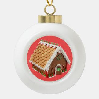 Boule En Céramique Chambre de pain d'épice et de sucre de canne de